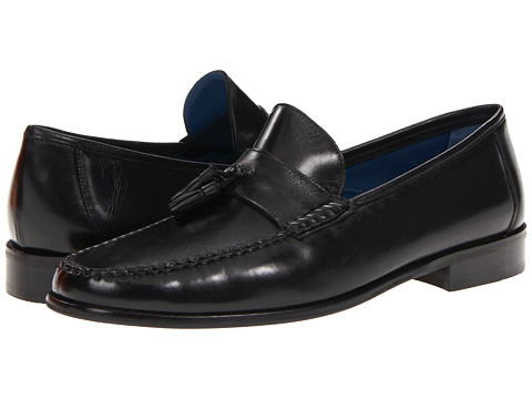 Pantofi Florsheim - Sarasota Tassel - Black Smooth Leather