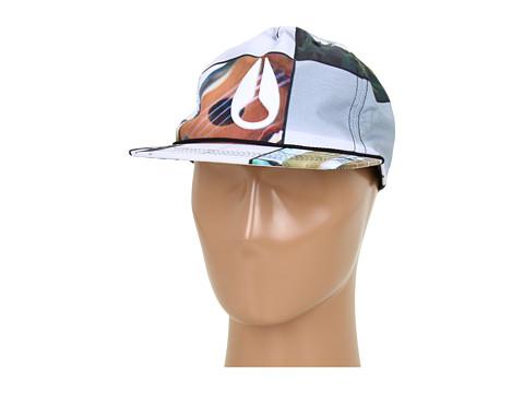 Sepci Nixon - Mic Snap Back Hat - Hawaiiana