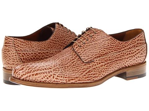 Pantofi A. Testoni - M45542UDM - Caramel Bicolor
