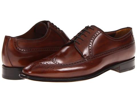 Pantofi A. Testoni - Wingtip Oxford - Caramel