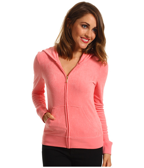 Bluze Juicy Couture - Original Terry Hoodie - Bubblegum