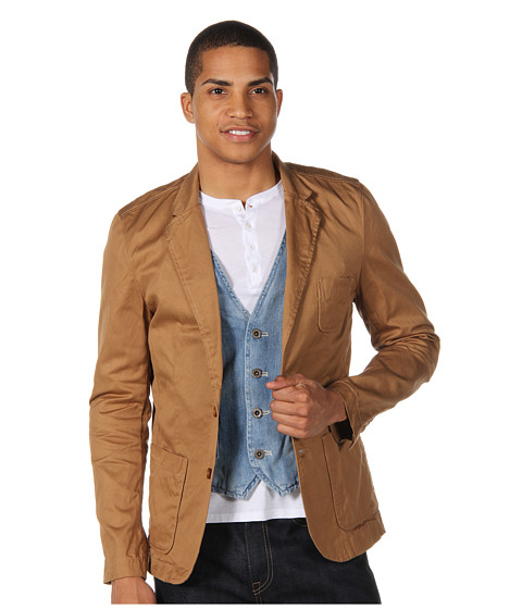 Jachete Scotch & Soda - Fitted Twill Blazer - Sand