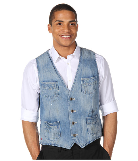Jachete Scotch & Soda - Workwear Denim Vest - Denim