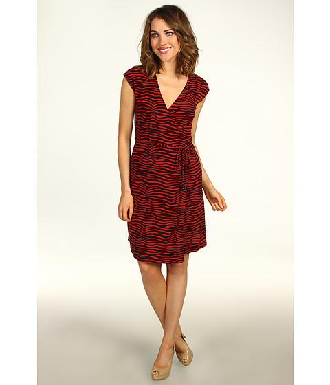 Rochii Michael Kors - Petite Mini Roxy Sleeveless Wrap Dress - Red Blaze