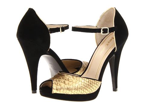 Pantofi Juicy Couture - Adria - Gold Metallic Snake Print