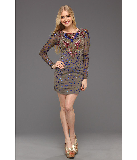 Rochii Free People - Day And Night Dress - Multi Taupe