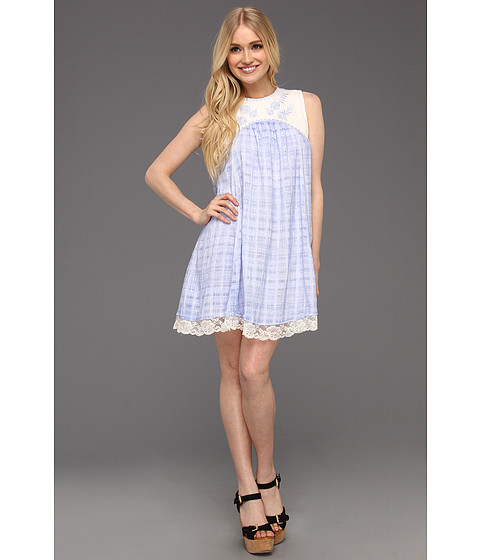 Rochii Free People - Strawberry Fields Dress - Periwinkle