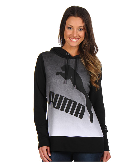 Bluze PUMA - Gradient Pullover Hoodie - Black