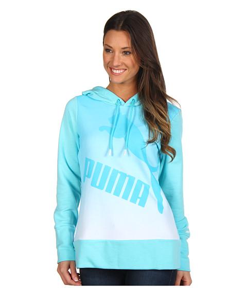 Bluze PUMA - Gradient Pullover Hoodie - Blue Curacao