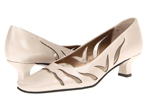 Pantofi Vaneli - Racilia - Sand Pearl Nappa/MTCH Mesh