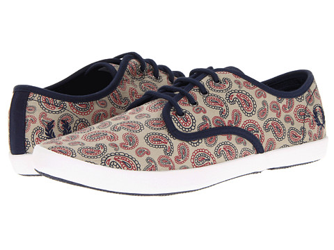 Adidasi Fred Perry - Foxx Classic Paisley Print - Oyster