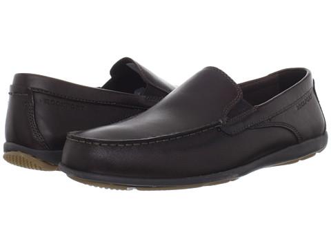 Pantofi Rockport - Cape Noble 2 Venetian - Dark Brown