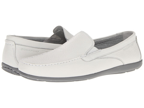 Pantofi Rockport - Cape Noble 2 Venetian - White/Grey