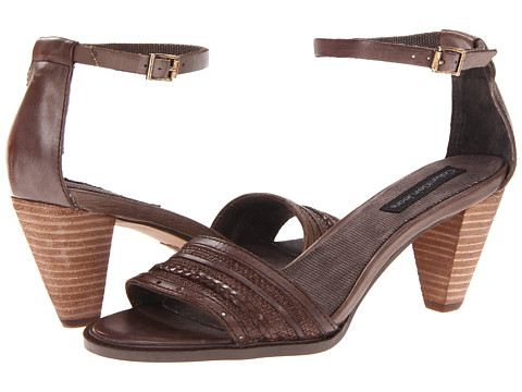 Sandale Calvin Klein - Laina - Dark Brown Waxy Leather
