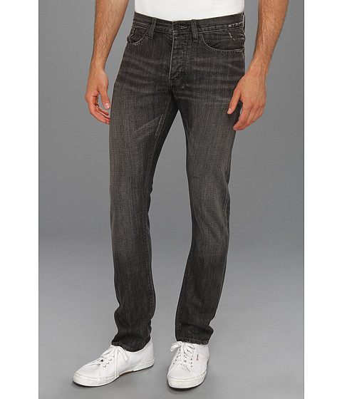 Blugi John Varvatos - Wight Jean in Carbon - Carbon
