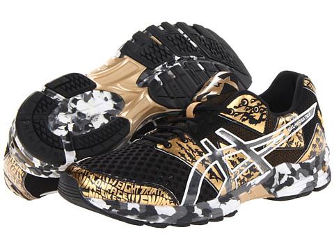 Adidasi ASICS - GEL-Noosa Triâ⢠8 - Black/Gold Metallic/White