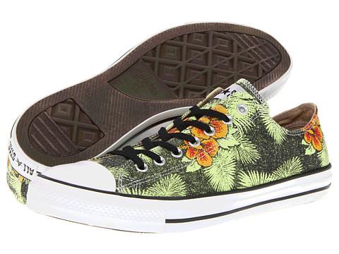 Adidasi Converse - Chuck Taylorî All Starî Hawaiian Print Ox - Black/Floral