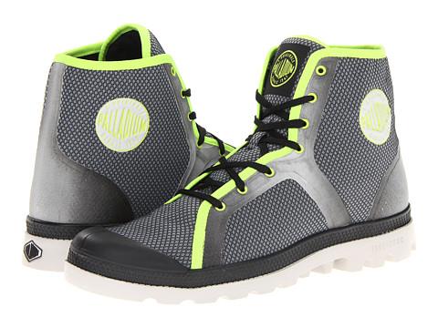 Adidasi Palladium - City Tech - Black/Vapor/Lime Green