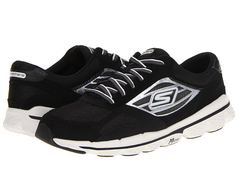 Adidasi SKECHERS - GOSkechers - Black/Grey