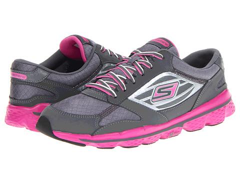 Adidasi SKECHERS - GOSkechers - Charcoal/Hot Pink