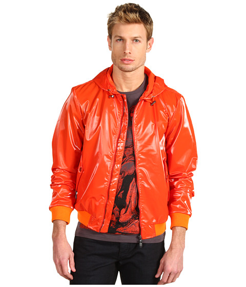 Jachete Versace - Hooded Windbreaker - Orange
