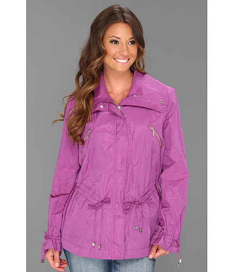 Jachete Cole Haan - Metallic Drawstring Jacket - Purple