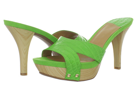 Pantofi Nine West - Eastnor - Green Croco Crinkle