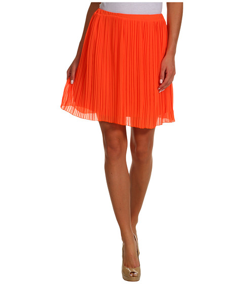 Fuste Brigitte Bailey - Rachel Pleated Skirt - Orange