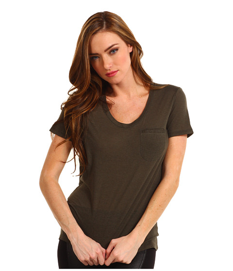 Bluze Theory - Rovita Top - Charcoal Brown
