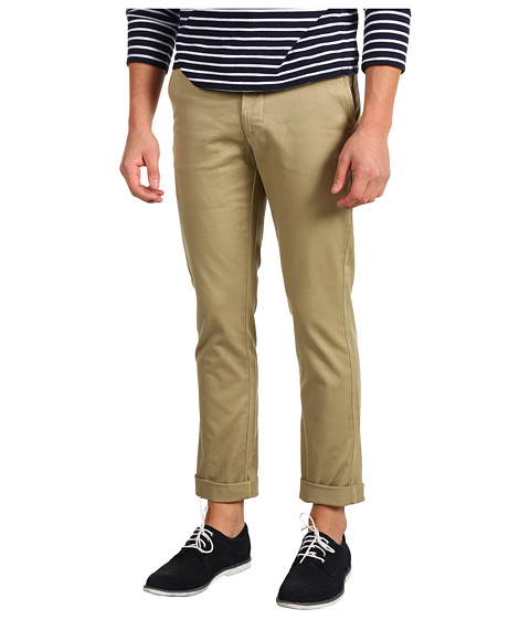 Pantaloni Dockers - Stretch Twill D-Zero Extra Slim Flat Front - New British Khaki