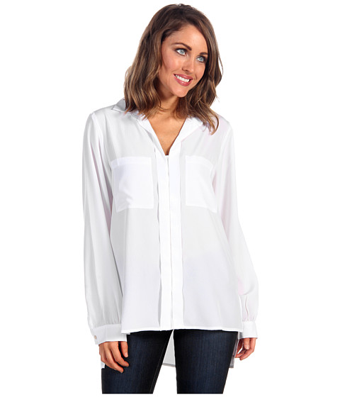 Bluze Kenneth Cole - Jordonna Wide-Sleeve Shirt - White