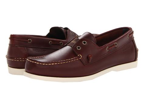 Pantofi Sebago - Wharf Slip-On - Brown Smooth