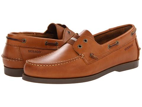 Pantofi Sebago - Wharf Slip-On - Tan