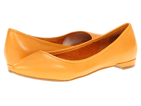 Balerini Rockport - Ashika Scooped Ballet - Butterscotch Leather
