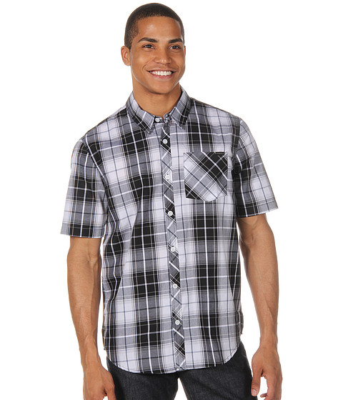 Camasi ONeill - Caswell S/S Button Up - Black