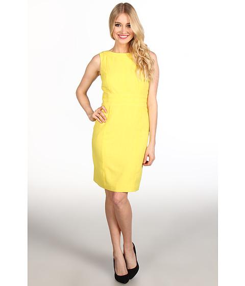 Rochii Ellen Tracy - Kenya Seamed Dress - Yellow