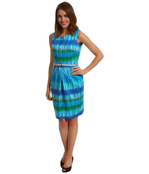 Rochii Calvin Klein - Sleeveless Tie Dye Sheath Dress - Multi