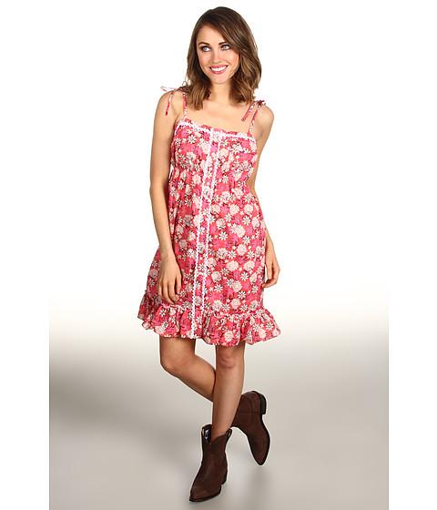 Rochii Roper - Free Spirit Group Floral Print Cotton Poplin - Red
