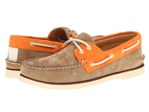 Pantofi Sperry Top-Sider - Gold A/O 2-Eye - Tan/Orange