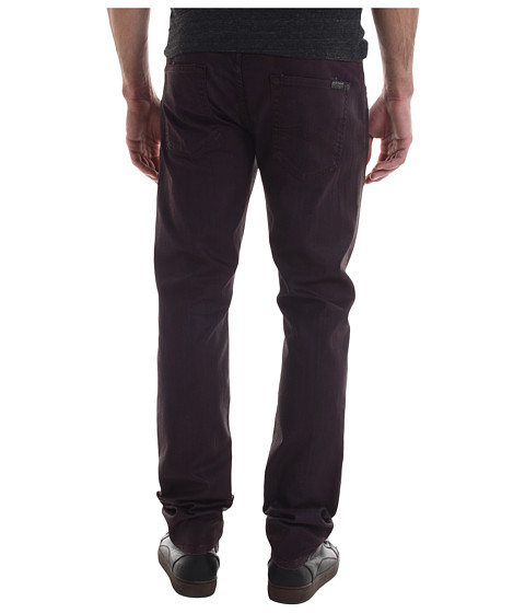 Blugi 7 For All Mankind - The Straight Color Coated Denim - Chianti