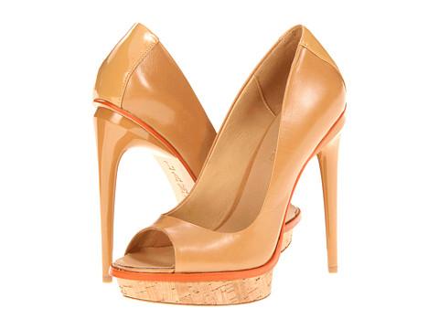 Pantofi L.A.M.B. - Jax - Naked/Orange