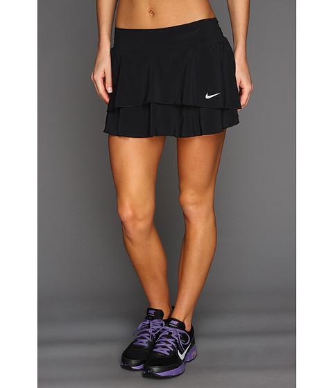 Fuste Nike - Flouncy Woven Skirt - Black/Matte Silver