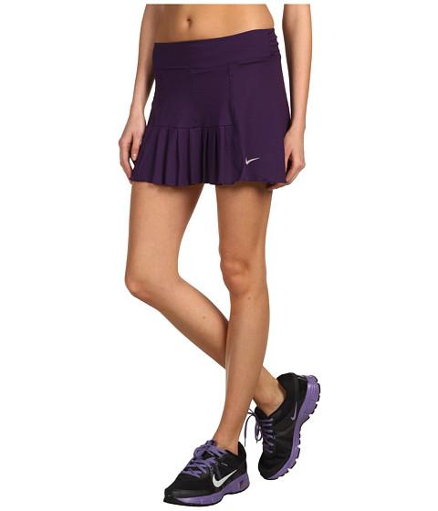 Fuste Nike - Pleated Knit Skort - Grand Purple/Matte Silver