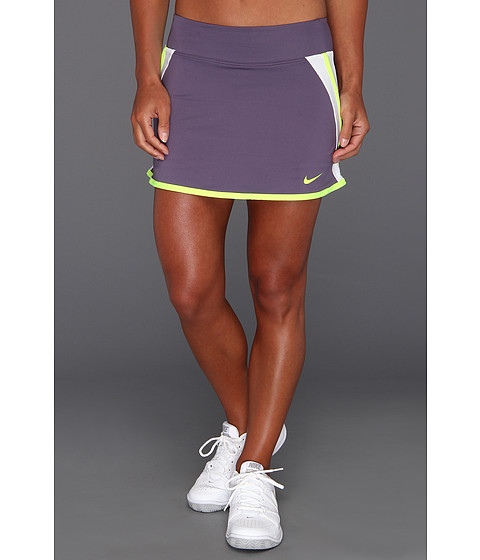 Fuste Nike - Power Skirt - Canyon Purple/White/Volt/Volt