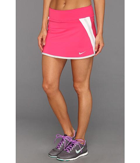 Fuste Nike - Power Skirt - Pink Force/White/Strata Grey/Matte Silver