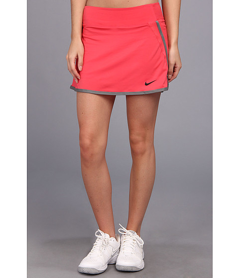Fuste Nike - Power Skirt - Geranium/Geranium/Medium Base Grey/Black