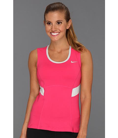 Tricouri Nike - Power Tank - Pink Force/Strata Grey/Strata Grey/Matte Silver