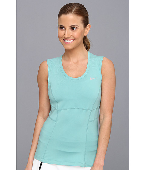Bluze Nike - Power Tank - Diffused Jade/Diffused Jade/Light Base Grey