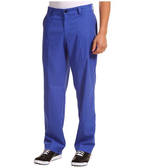 Pantaloni adidas - ClimaLite® Flat Front Pant \13 - Blueberry/White