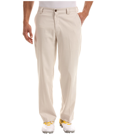 Pantaloni adidas - ClimaLiteî Flat Front Pant \13 - Ecru/White